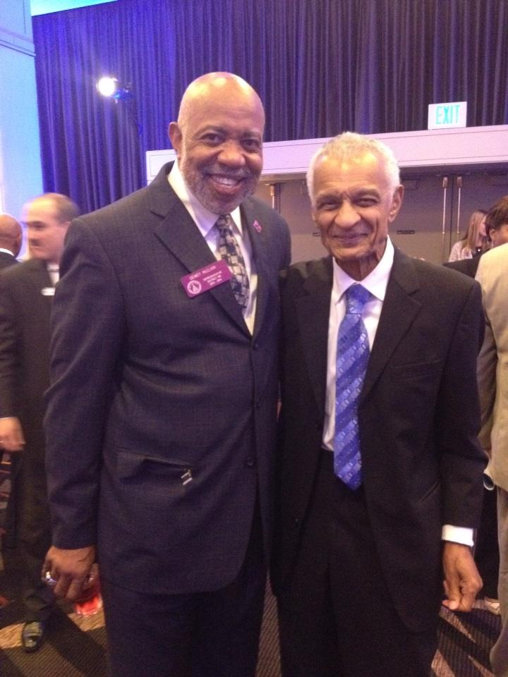 Civil Rights Leader CT Vivian and me