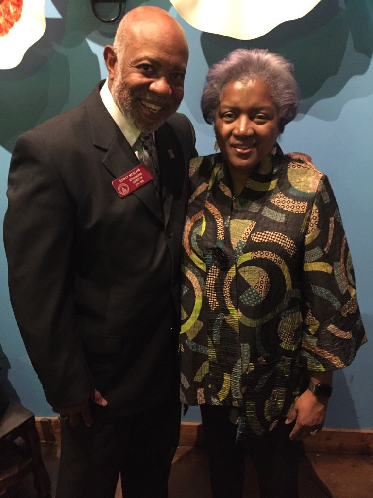 Meeting Donna Brazile