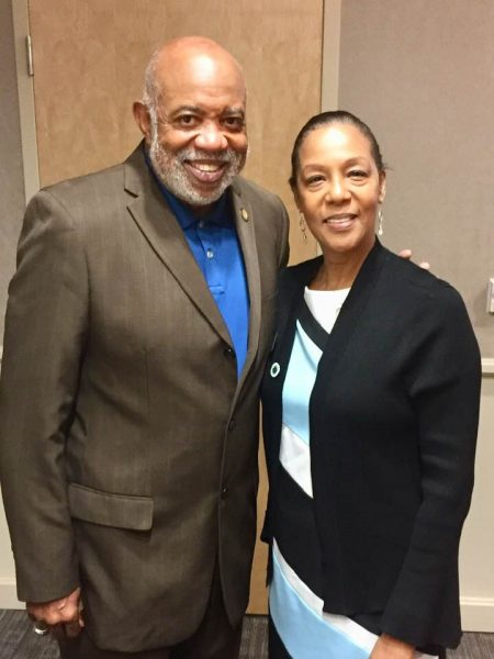 Dewey McClain with Dr. Jann Joseph