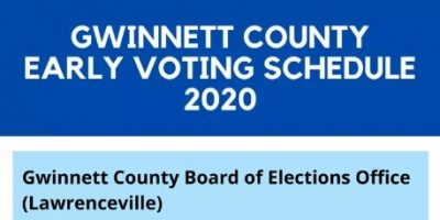 Early Voting Starts May 18 2020